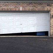 Garage door problem - sagging door