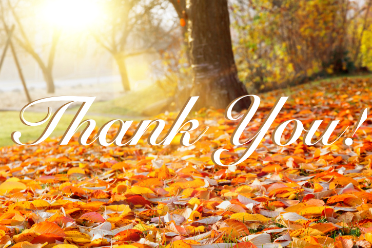 Thankful for our customers - Thank you!