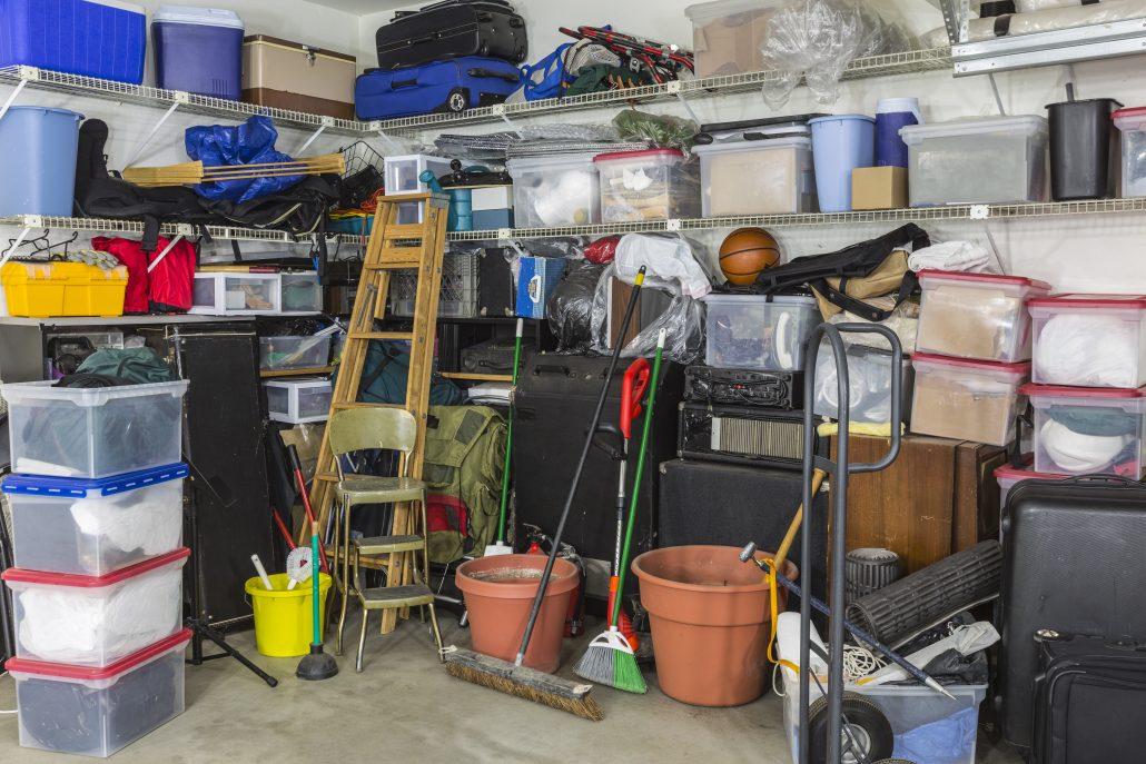 spring clean garage